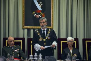 El presidente del TS y del CGPJ aboga por acometer las reformas pendientes en la jurisdicción militar