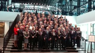 El presidente del TS y del CGPJ interviene en el Tribunal de Justicia de la Unión Europea con motivo del LX aniversario de la firma del Tratado de Roma