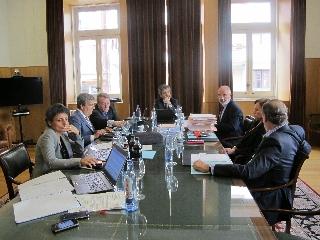 Reunión de la Comisión Permanente del CGPJ en A Coruña