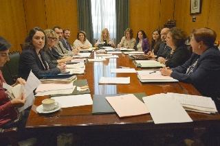 Reunión del Observatorio contra la Violencia Doméstica y de Género en la sede del CGPJ