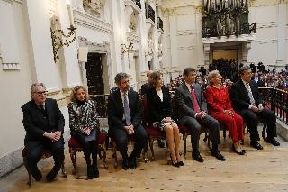 El acto ha sido presidido por Su Majestad la Reina en la Real Academia de Bellas Artes de San Fernando