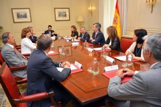 El presidente del TS y del CGPJ recibe a la Comisión Permanente de presidentes de Audiencias Provinciales