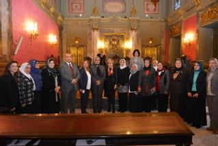 Delegación de juezas de Egipto visita las instituciones judiciales españolas